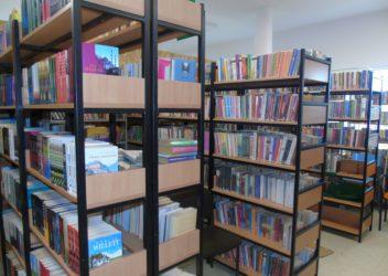 Biblioteka w  tymczasowych siedzibach
