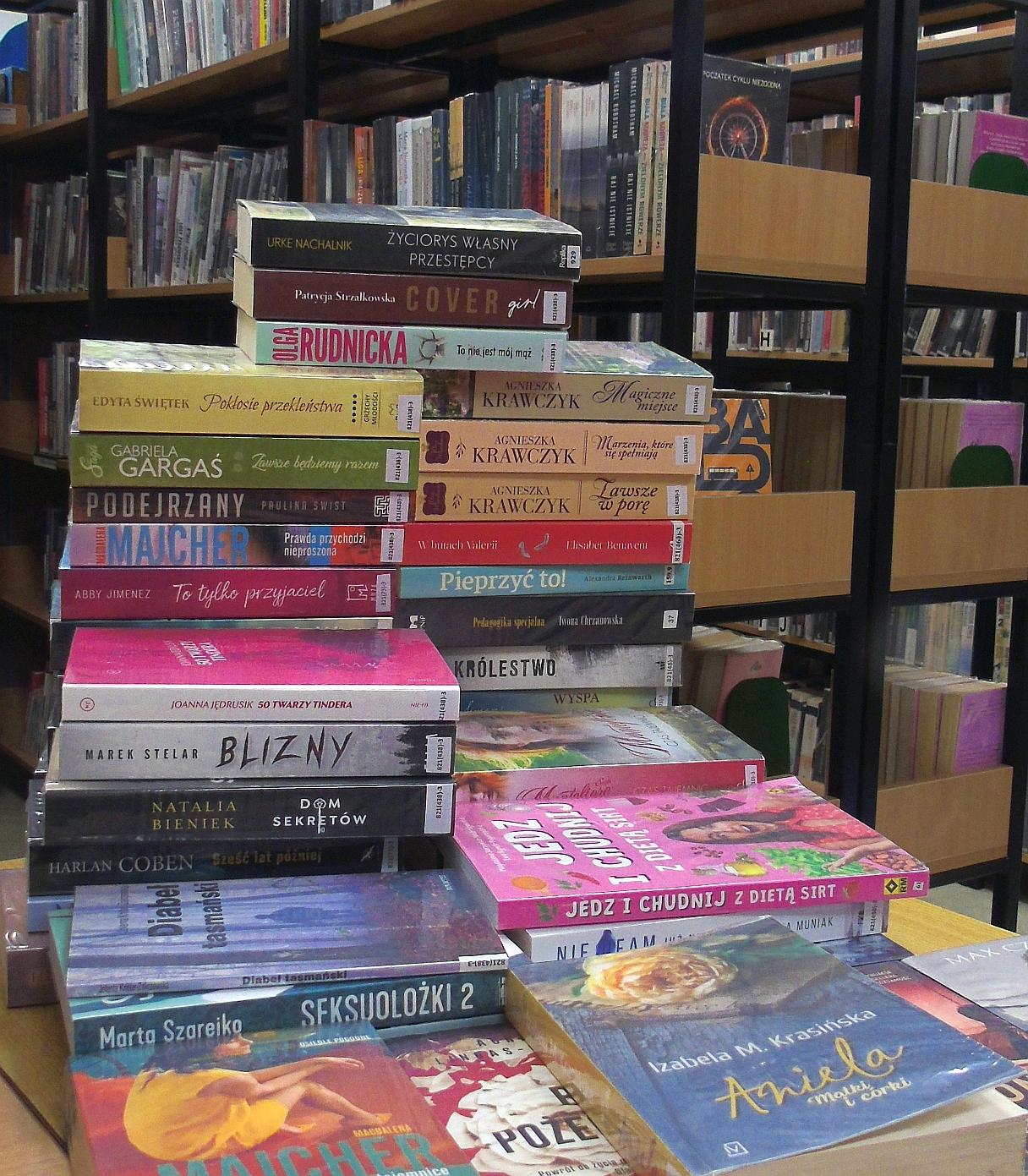 Biblioteka znowu otwarta i zaprasza na nowości