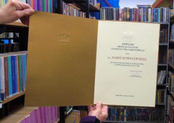 Bibliotekarka wyróżniona przez ministra